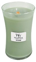 Düfte, Parfümerie und Kosmetik Duftkerze im Glas Applewood - WoodWick Hourglass Candle Applewood Large Jar