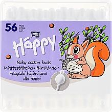 Düfte, Parfümerie und Kosmetik Wattestäbchen für Kinder 56 St. - Bella Baby Happy