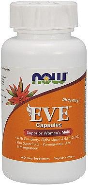 Multivitamine und Multimineralien für die Frau mit Aquaminmineralstoffen, ALA und Moosbeerextrakt - Now Foods Eve Womans Multi — Bild N1