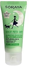 Düfte, Parfümerie und Kosmetik Tonmaske mit grünem Ton und Kapuzinerkresse-Extrakt vor dem Schlafen - Soraya Sleep Well