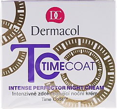 Düfte, Parfümerie und Kosmetik Pflegende Nachtcreme - Dermacol Time Coat Intense Perfector Night Cream