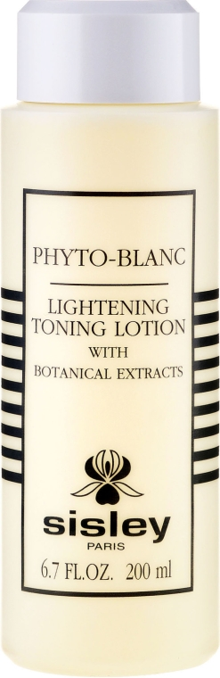 Gesichtslotion für Make-up-Entfernung mit Pflanzenextrakten - Sisley Phyto-Blanc Lightening Toning Lotion — Bild N2