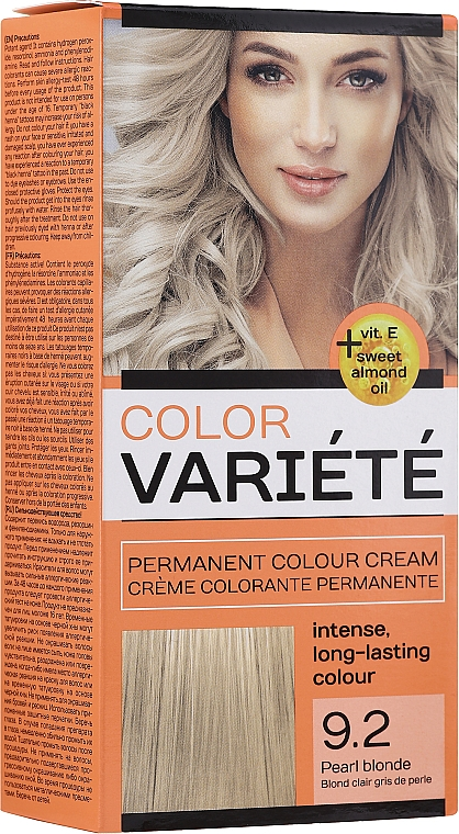 Permanente Haarfarbe mit Mandelöl und Vitamin E - Chantal Variete Color