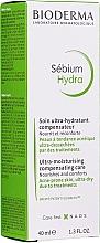 Feuchtigkeitsspendende Gesichtscreme für zu Akne neigende Haut - Bioderma Sebium Hydra Moisturising Cream — Bild N2