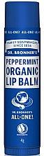 Düfte, Parfümerie und Kosmetik Lippenbalsam mit Pfefferminze - Dr. Bronner's Peppermint Lip Balm