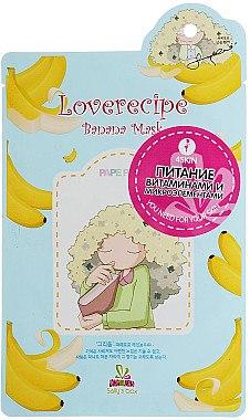 Pflegende Tuchmaske mit Bananenextrakt - Sally`S Box Loverecipe Banana Mask — Bild N1
