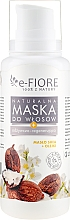 Düfte, Parfümerie und Kosmetik Natürliche Haarmaske mit Sheabutter und Pflanzenölen - E-Fiore Shea Butter And Oils Hair Mask