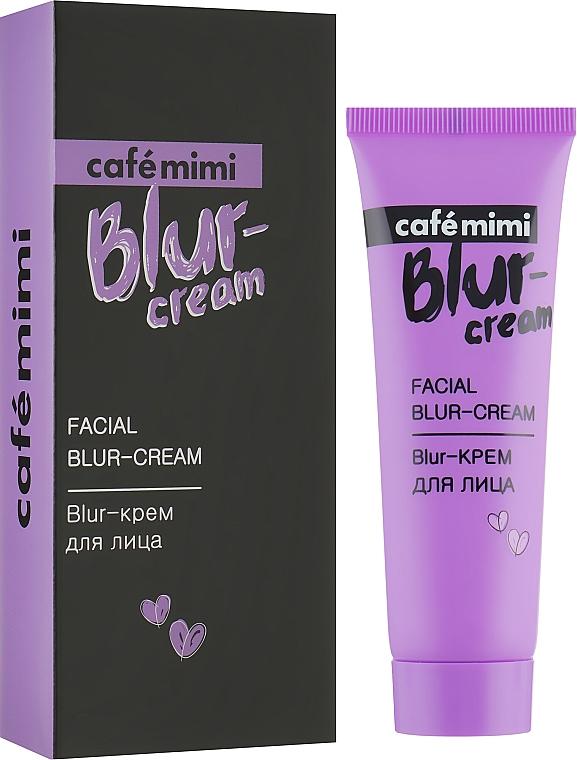 Glättende und ausgleichende Blur-Creme für das Gesicht - Cafe Mimi Facial Blur-Cream