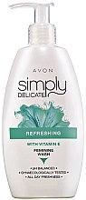 Düfte, Parfümerie und Kosmetik Erfrischendes Gel für die Intimhygiene mit Vitamin E - Avon Simply Delicate