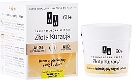 Düfte, Parfümerie und Kosmetik Straffende Liftingcreme für Hals und Dekolleté 60+ - AA Cosmetics Age Technology Golden Revival Cream