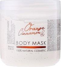 Düfte, Parfümerie und Kosmetik Körpermaske mit Orange und Zimt - Hristina Cosmetics Sezmar Professional Body Mask Orange Cinnamon