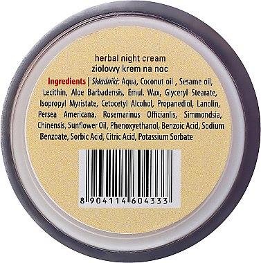 Nachtcreme mit Heilkräutern - Sattva Ayurveda Herbal Night Cream — Bild N3