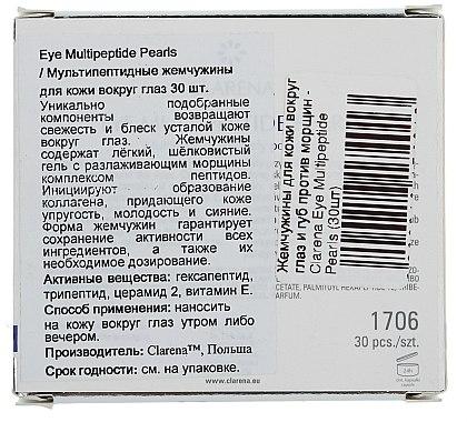Anti-Aging Serum in Kapselform für den Augenbereich - Clarena Eye Multipeptide Pearls — Bild N3