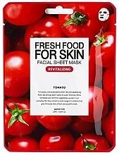 Düfte, Parfümerie und Kosmetik Festigende feuchtigkeitsspendende und tonisierende Tuchmaske mit Tomatenextrakt für alle Hauttypen - Superfood For Skin Facial Sheet Mask Tomato Revitalizing