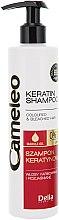 Düfte, Parfümerie und Kosmetik Shampoo mit Keratin für gefärbtes Haar oder Strähnen - Delia Cameleo Shampoo
