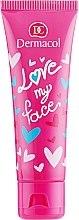 Gesichtspflege für junge Haut mit Himbeeren und Waldbeeren - Dermacol Love My Face Rasberries & Forst Berries Scent Face Cream — Bild N2