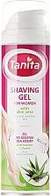 Rasiergel mit Aloe Vera Extrakt für Frauen mit trockener und empfindlicher Haut - Tanita Body Care Shave Gel For Woman — Bild N1