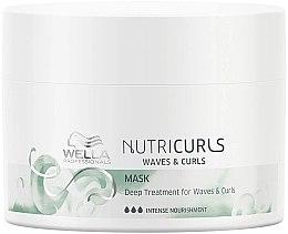 Düfte, Parfümerie und Kosmetik Intensiv pflegende Maske für welliges und lockiges Haar - Wella Professionals Nutricurls Mask