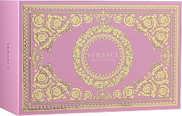 Düfte, Parfümerie und Kosmetik Versace Bright Crystal - Duftset (Eau de Toilette 90ml + Eau de Toilette 10ml + Kosmetiktasche)