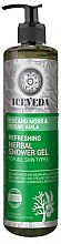 Düfte, Parfümerie und Kosmetik Duschgel - Natura Siberica Iceveda Iceland Moss&Indian Amla Refresh Herbal Shower Gel