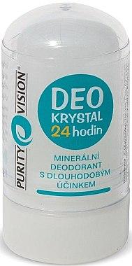 Kristall Deostick - Purity Vision Deo Krystal 24 Hour Mineral Deodorant — Bild N1