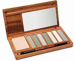 Lidschattenpalette - Alilla Cosmetics Forest Palette — Bild N1
