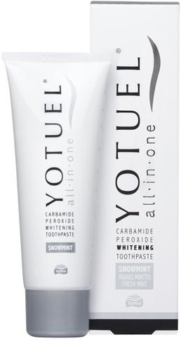 Aufhellende Zahnpasta All in One - Yotuel All in One Snowmint Whitening Toothpaste — Bild N1