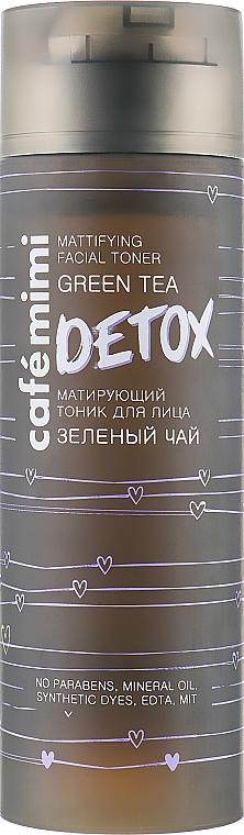 Mattierendes Detox-Gesichtstonikum mit grünem Tee - Cafe Mimi Detox Mattifying Facial Toner — Bild N1