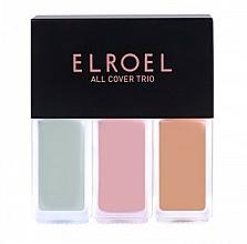 Düfte, Parfümerie und Kosmetik Gesichtsconcealer - Elroel All Cover Trio