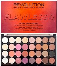 Düfte, Parfümerie und Kosmetik Lidschattenpalette - Makeup Revolution Ultra 32 Shade Palette Flawless 4
