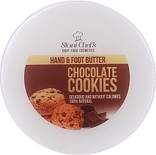 """Düfte, Parfümerie und Kosmetik Nährende, feuchtigkeitsspendende und verjüngende Hand- und Fußcreme """"Schokokekse"""" - Stani Chef's Chocolate Cookies Hand Foot Cream"""