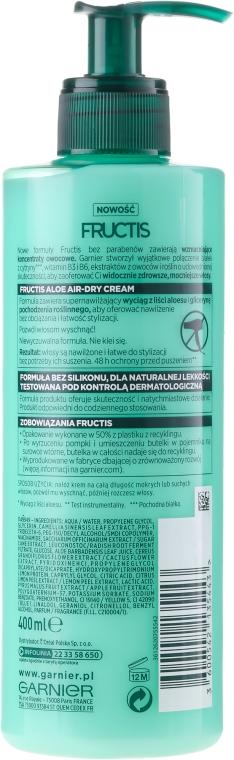 Haarcreme - Garnier Fructis Aloe Air-Dry Cream — Bild N2