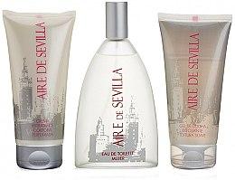 Düfte, Parfümerie und Kosmetik Loewe Aire de Sevilla - Kosmetikset (Eau de Toilette/150ml + Körpercreme/150ml + Duschgel/150ml)