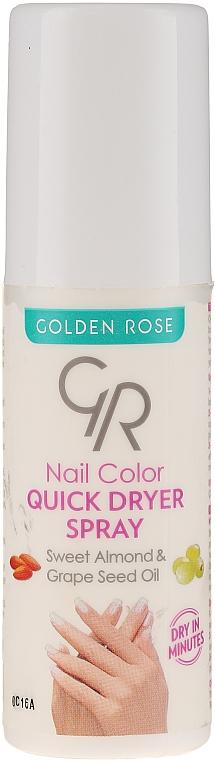 Nagellacktrockner-Spray - Golden Rose Nail Quick Dryer Spray — Bild N1