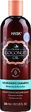 Düfte, Parfümerie und Kosmetik Feuchtigkeitsspendendes nährendes und revitalisierendes Shampoo mit Kokosnussöl - Hask Coconut Oil Shampoo
