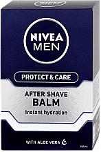 Düfte, Parfümerie und Kosmetik Feuchtigkeitsspendender After Shave Balsam - Nivea Men Prtotect & Care Moisturizing After Shave Balm