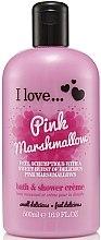 Düfte, Parfümerie und Kosmetik Dusch- und Badecreme Pink Marshmallow - I Love... Pink Marshmallow Bubble Bath and Shower Creme