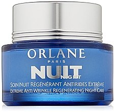 Düfte, Parfümerie und Kosmetik Anti-Falten Nachtcreme - Orlane Extreme Anti-Wrinkle Regenerating Night Care