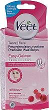 Düfte, Parfümerie und Kosmetik Wachsstreifen für das Gesicht - Veet Wax Strips for Face
