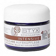 Düfte, Parfümerie und Kosmetik Intensiv regenerierende Gesichtscreme mit Gelée royale - Styx Naturcosmetic Rose Garden Intensive Restructuring Care (Probe)