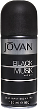 Düfte, Parfümerie und Kosmetik Jovan Black Musk For Men - Deospray