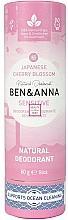 Düfte, Parfümerie und Kosmetik Deodorant Japanische Blüte - Ben&Anna Natural Natural Deodorant Sensitive Japanese Blossom
