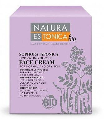 Feuchtigkeitsspendende Gesichtscreme mit japanischem Schnurbaum - Natura Estonica Sophora Japonica Face Cream — Bild N2