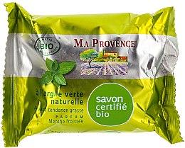Düfte, Parfümerie und Kosmetik Naturseife mit grünem Ton und Minzduft - Ma Provence Organic Soap