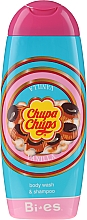 Düfte, Parfümerie und Kosmetik 2in1 Shampoo & Duschgel für Kinder - Bi-es Chupa Chups Vanilla Body Wash & Shampoo