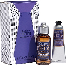 Düfte, Parfümerie und Kosmetik L'Occitane Eau de L'Occitan - Körperpflegeset (Parfümiertes Duschgel 75ml + After Shave Balsam 30ml)