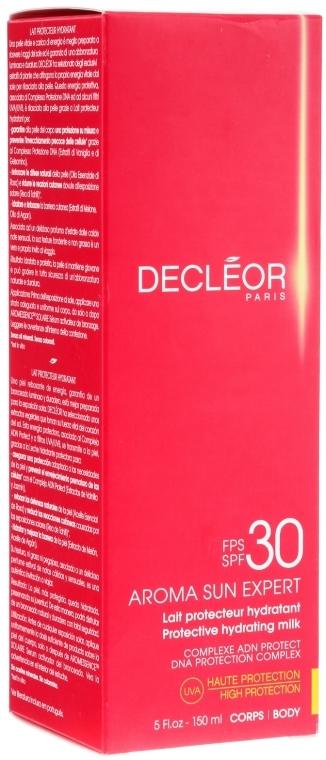 Sonnenschutzmilch mit Tahiti-Vanille und Rosenöl SPF 30 - Decleor Aroma Sun Expert Protective Hydrating Milk SPF 30 — Bild N1