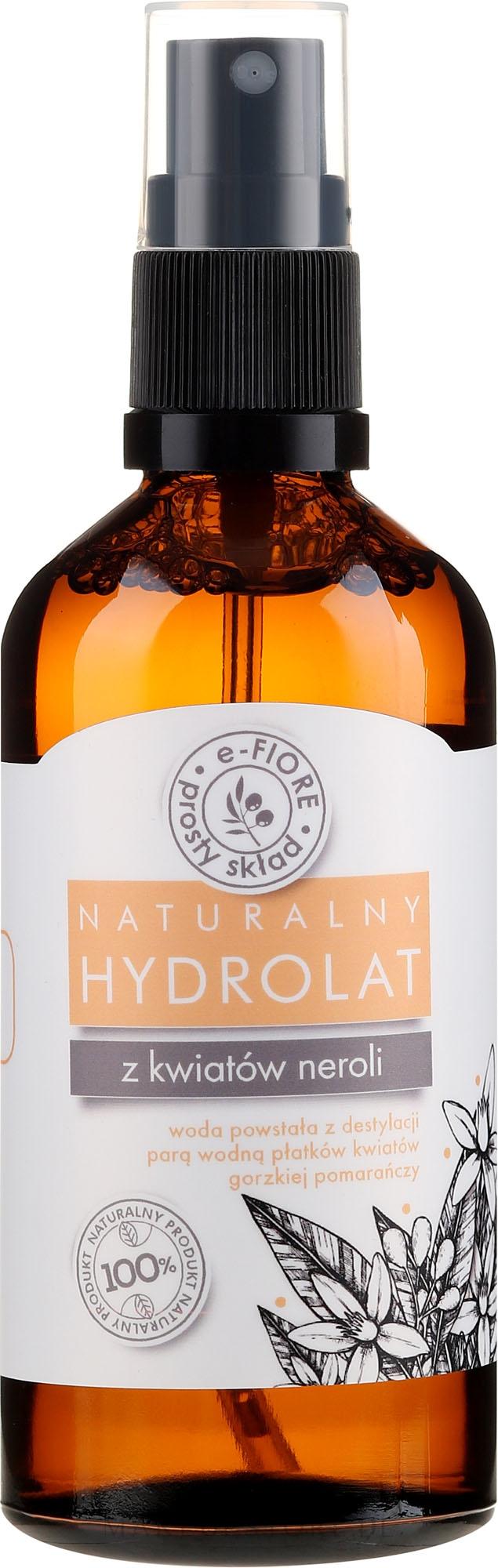 Gesichtshydrolat aus Neroli-Bluten - E-Fiore Hydrolat — Bild 100 ml