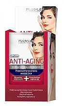 Düfte, Parfümerie und Kosmetik Anti-Falten Gesichtsmaske mit Hyaluronsäure - Floslek Anti-Aging Kuracja Hialuronowa Mask