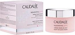 Düfte, Parfümerie und Kosmetik Glättende und regenerierende Nachtcreme für das Gesicht - Caudalie Resveratrol Lift Night Infusion Cream